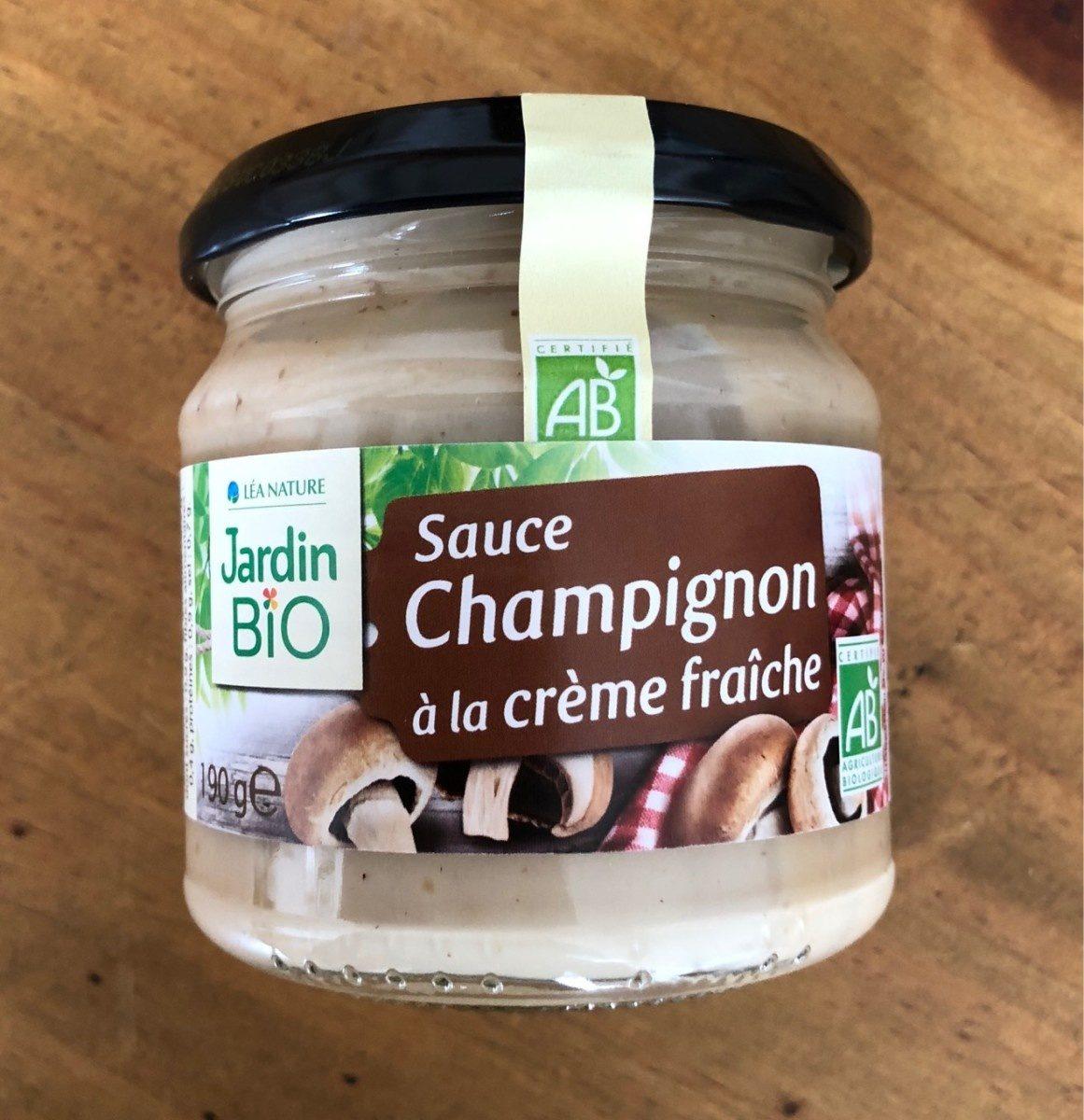 Sauce champignon à la crème fraîche - Produit