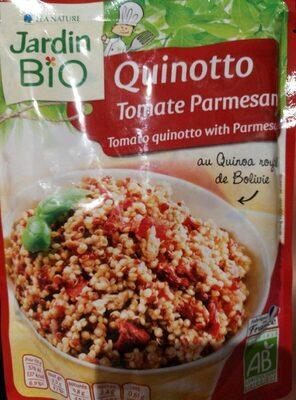 Quinotto tomate parmesan - Produit - fr