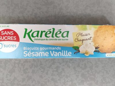 Biscuits gourmands sésame vanille - Product - fr