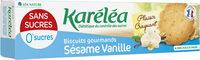 BISCUITS SESAME VANILLE SANS SUCRE AJOUTE - Product - fr