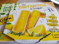 Nos tartinettes a croquer citron - Produit - fr