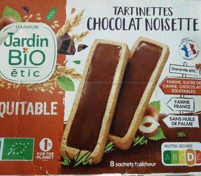 Tartinettes chocolat noisette - Producto - fr