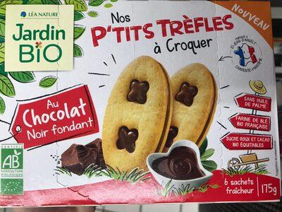 Nos p'tits trèfles à Croquer au Chocolat noir fondant - Product