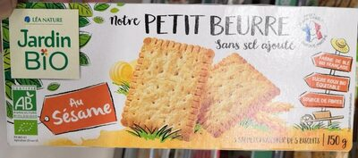 Notre petit beurre sans sel ajouté au sésame - Product