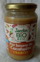 Pur beurre de cacahuète crunchy - Prodotto - fr