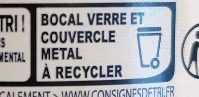 Pur beurre de cacahuète crunchy - Istruzioni per il riciclaggio e/o informazioni sull'imballaggio - fr