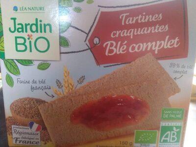 Tartines craquantes blé complet - Produit - fr