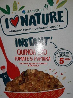 Instant quinoa tomate paprika - Produit - fr