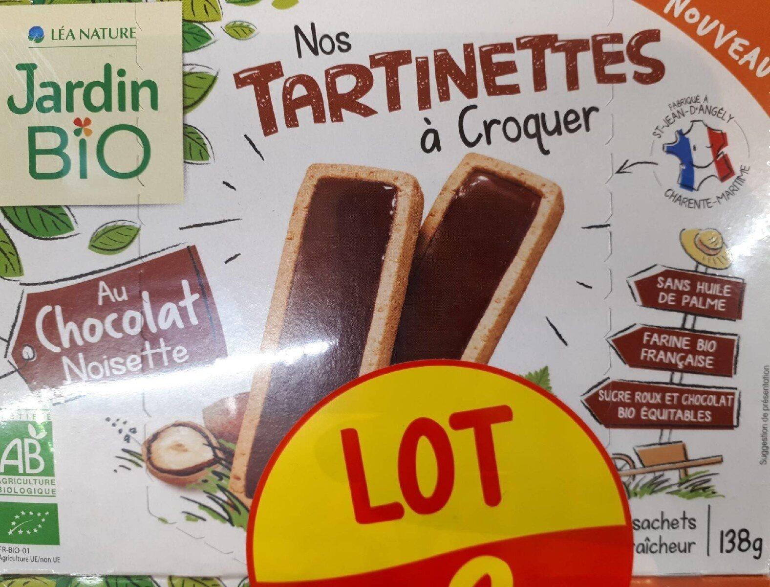 Nos tartinettes à croquer,  au chocolat noisette - Product
