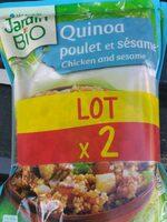 Quinoa poulet et sésame - Produit - en