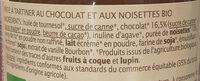 Pate a tartiner choco noisette - Ingredients - fr