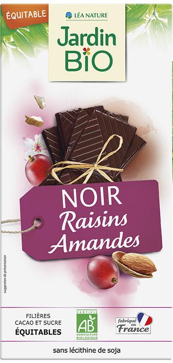 NOIR Raisins Amandes - Produit - fr