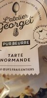 Tarte Normande 550G., - Product - fr