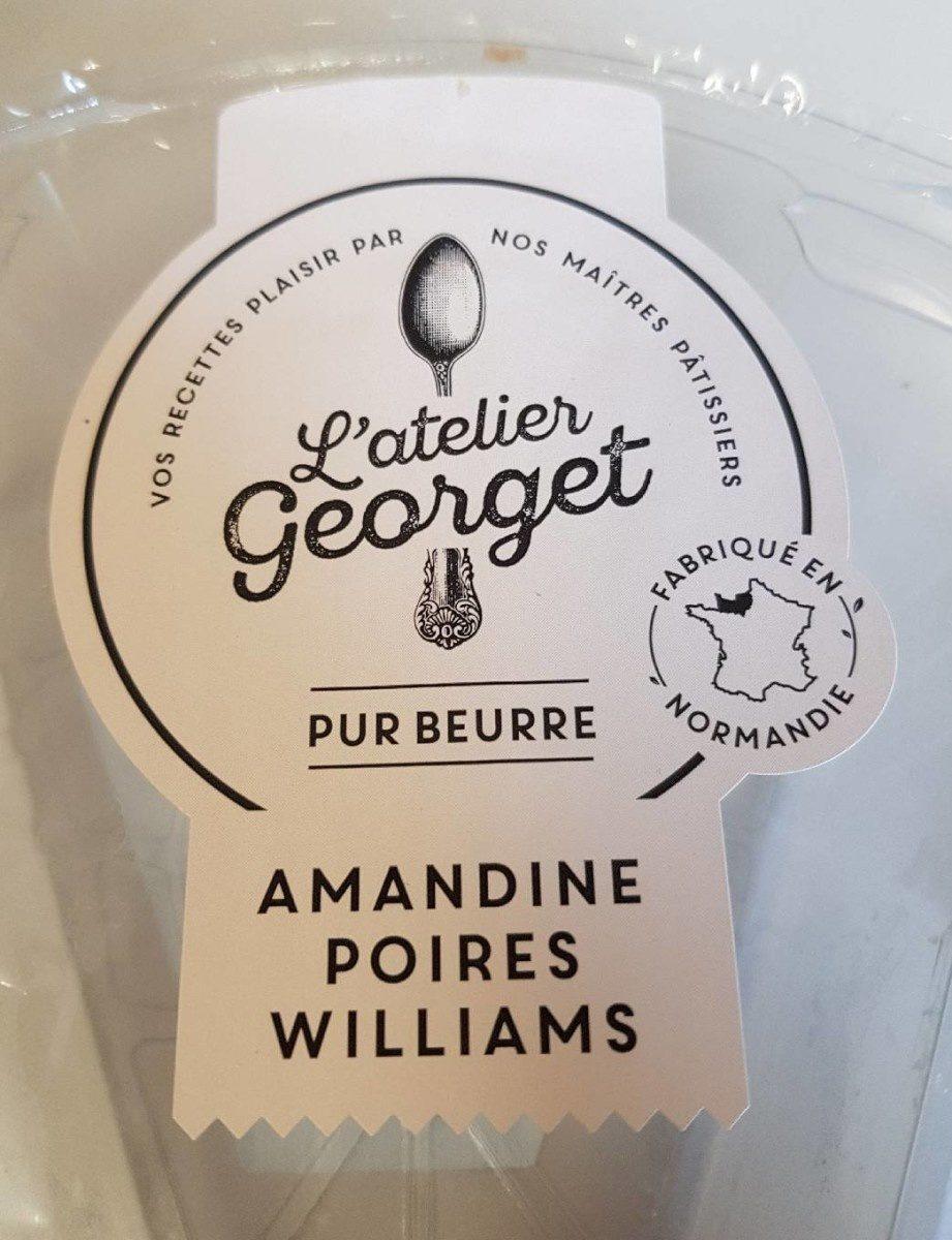 Amandine Poires Williams - Produit