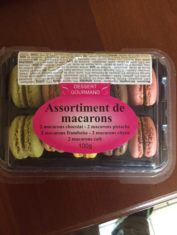 Assortiment de macarons - Produto - fr