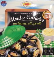 Moules cuisinées au beurre, ail et persil - Produit
