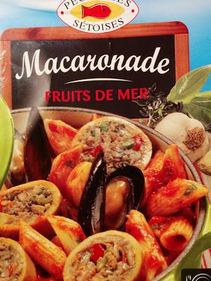 "Macaronade ""Fruits de mer"" - Produit - fr"