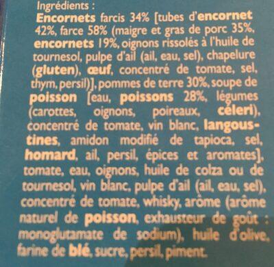 Encornet - Ingrédients