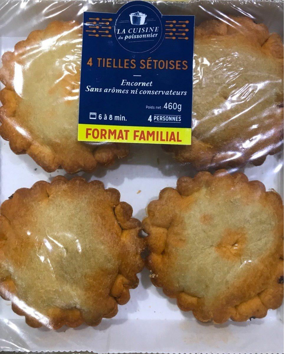 4 Tielles Sétoises - Product - fr