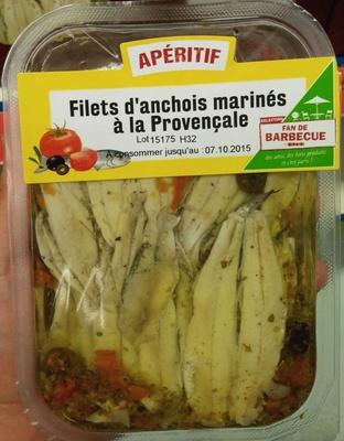 Filets d'anchois marinés à la Provençale - Produit