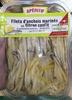 Filets d'anchois marinés au citron confit - Product