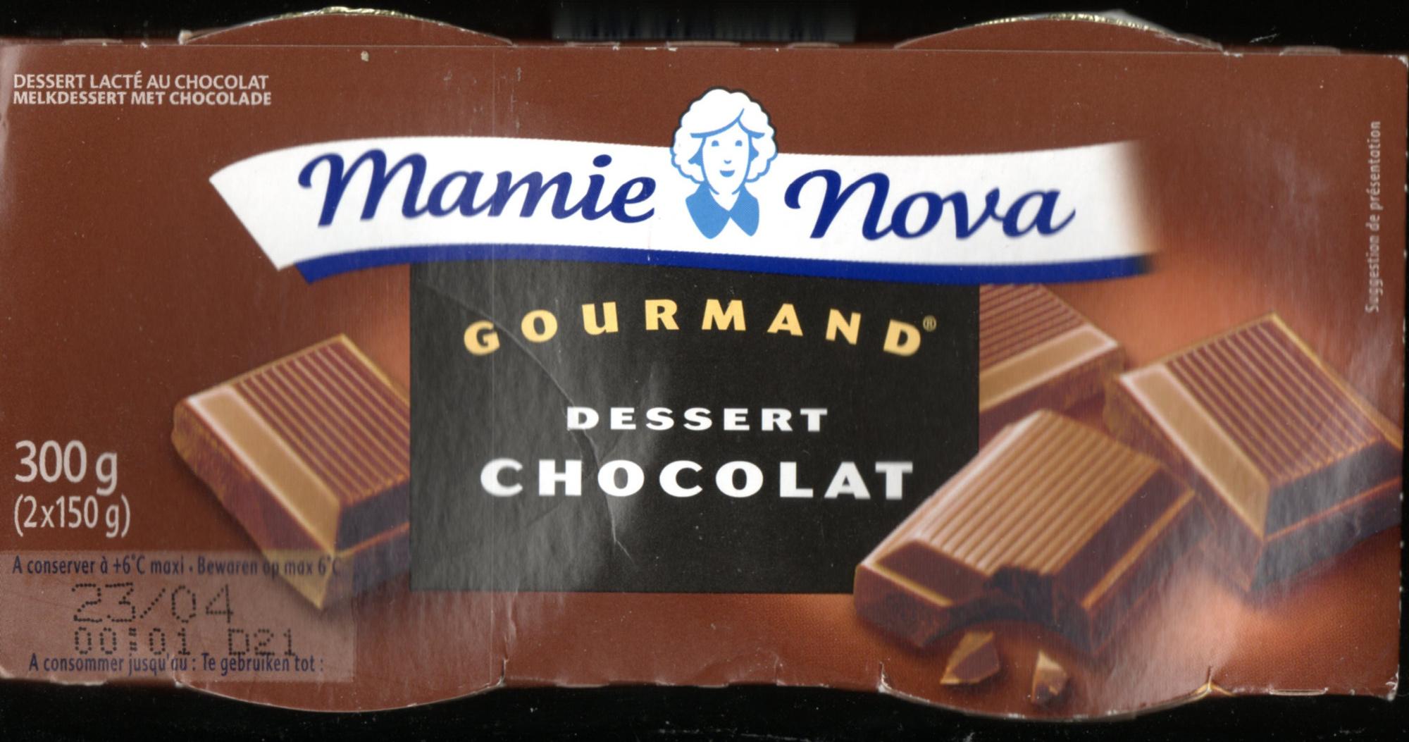 Gourmand Dessert Chocolat - Produit - fr