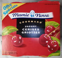 Yaourt Gourmand Cerises Griottes - Product