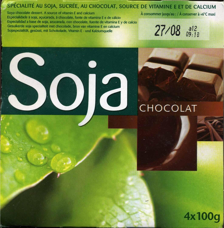 Postre de soja con chocolate - Producte