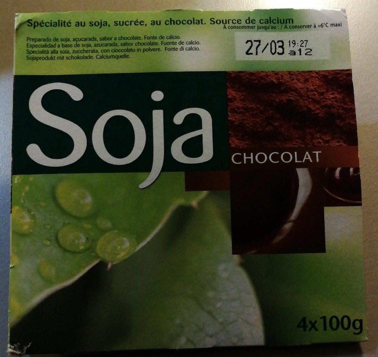 Soja chocolat - Produit - fr