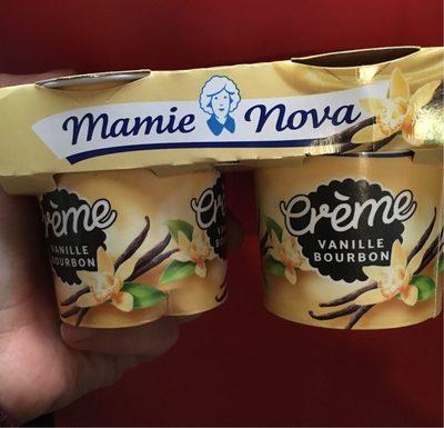 Crème vanille bourbon - Produit - fr