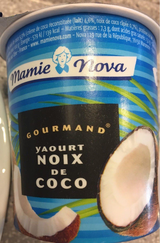 Yaourt Gourmand à La Noix De Coco - Produit - fr