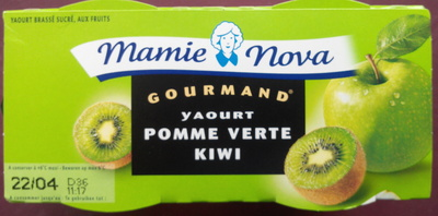 Yaourt Pomme Verte Kiwi - Produit - fr