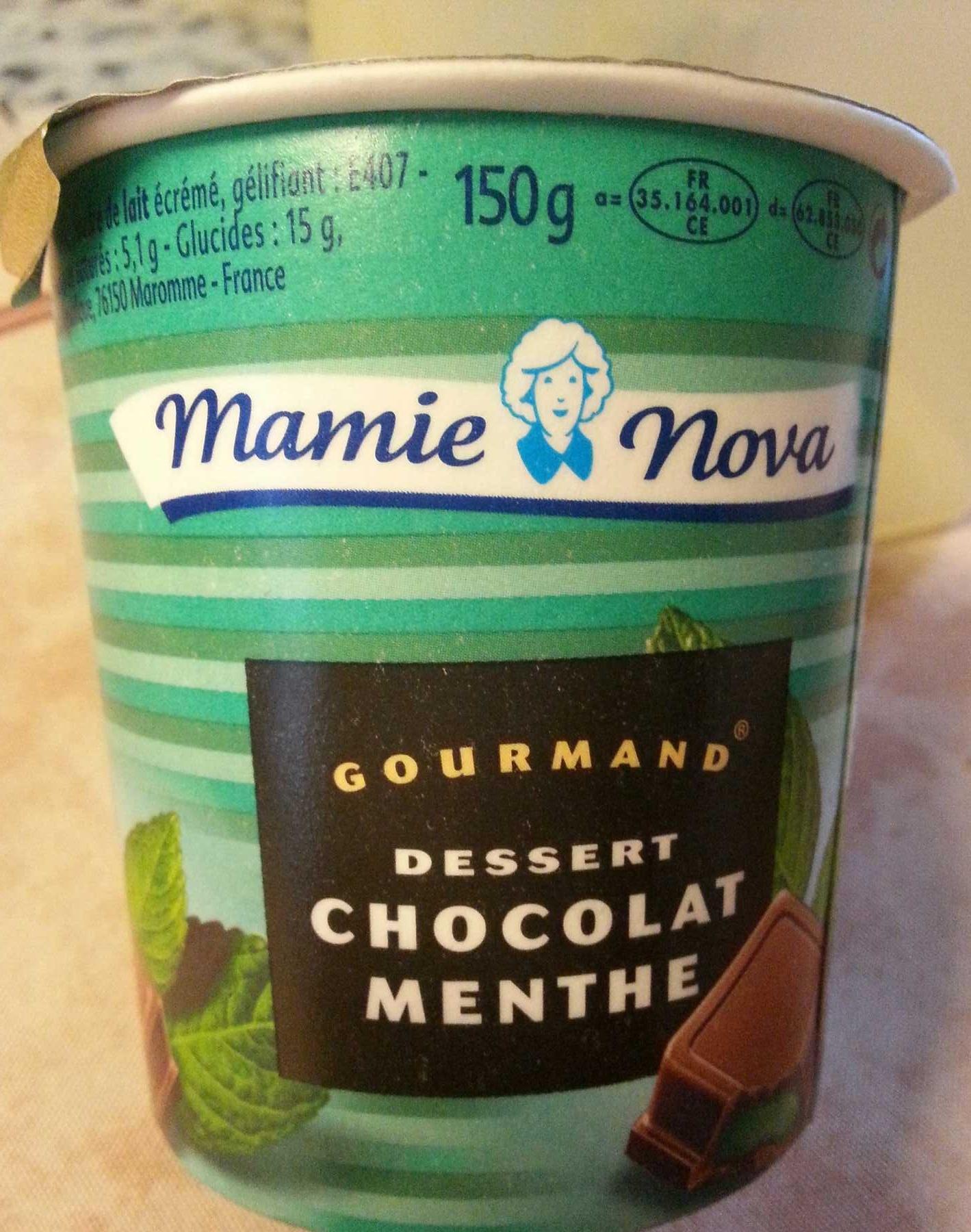 Gourmand Dessert Chocolat Menthe - Product