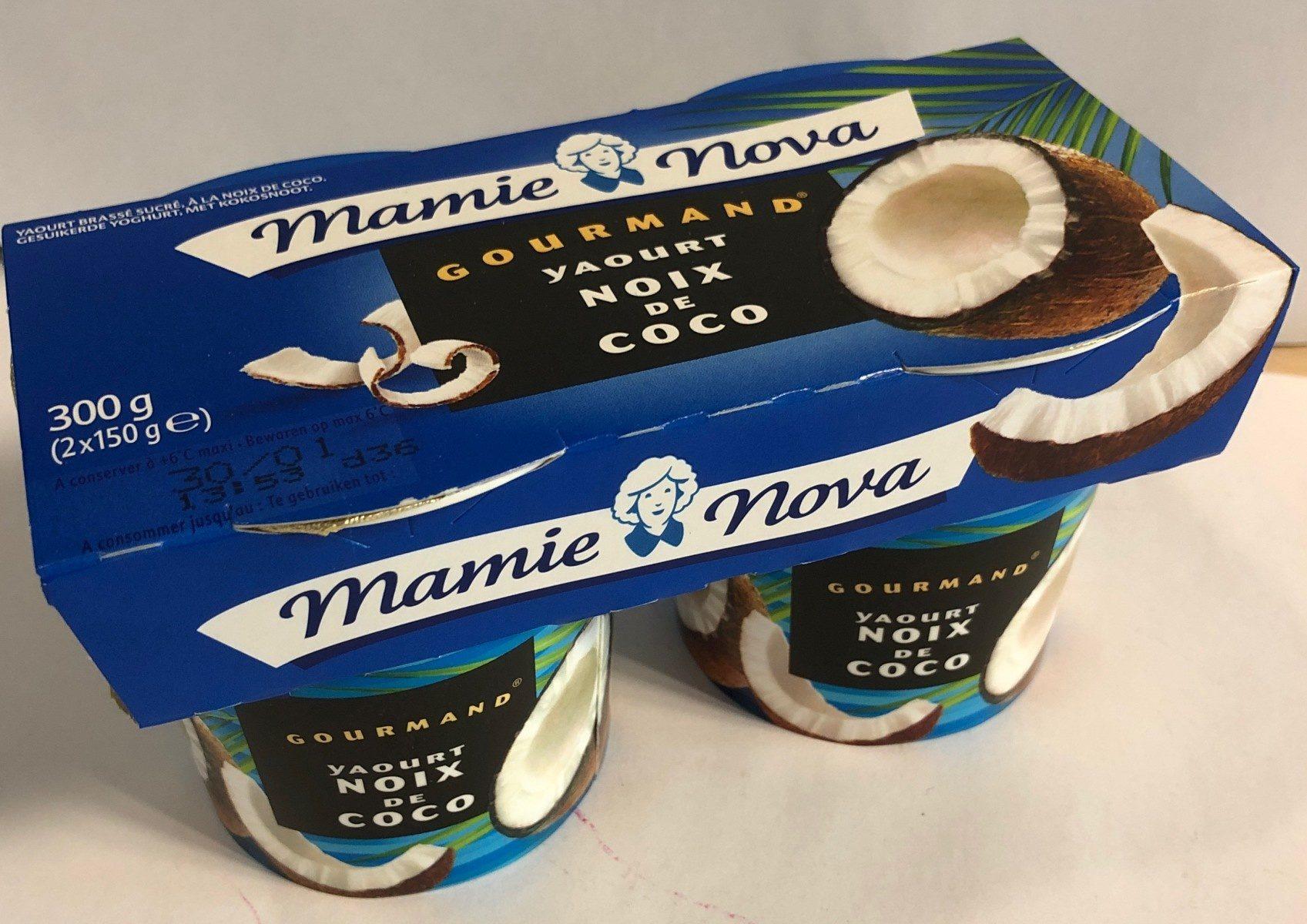 Yaourt Gourmand - noix de coco - Product