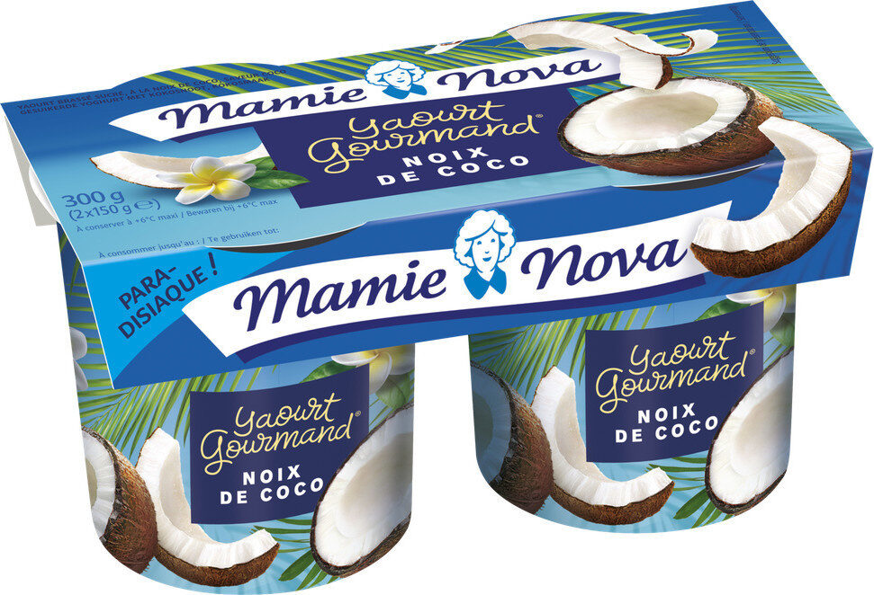 yaourt gourmand noix de coco - Produit - fr