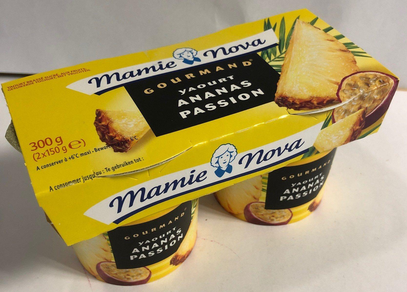 Gourmand Yaourt Ananas Passion - Produit