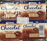 Crème dessert onctueuse chocolat - Product - fr