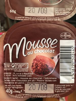 Mousse Chocolat - Product - fr