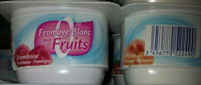 Fromage Frais aux Fruits 0% MG - Product - fr