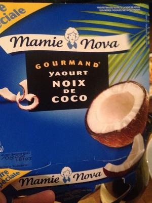 Gourmand Yaourt Noix de Coco - Produit - fr