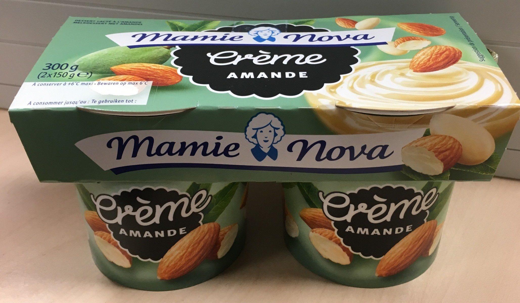 Crème amande - Produit - fr