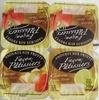 Yaourts aux fruits Façon Pâtissiers (Fraise, Pomme, Citron) - Produit