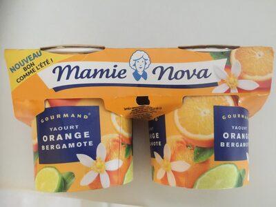 Yaourt orange bergamote - Product
