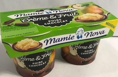 Creme & fruit poire chocolat - Product