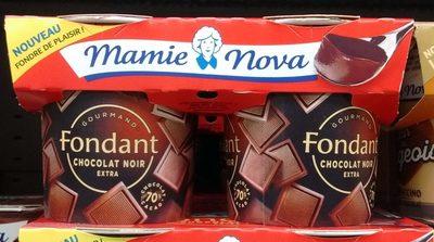 Fondant Chocolat Noir Extra - 70% de cacao - Product