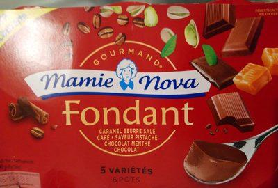 Dessert lactés fondant 5 variétés, 6 pots - Product - fr