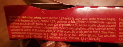 Dessert lactés fondant 5 variétés, 6 pots - Nutrition facts - fr