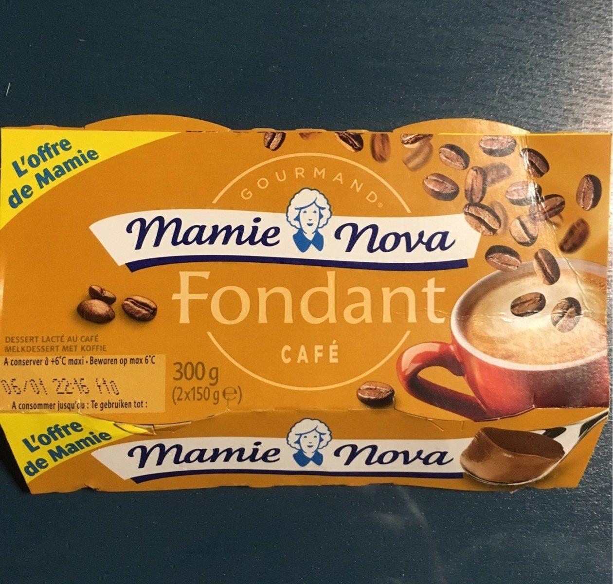 Fondant Café - Produit - fr