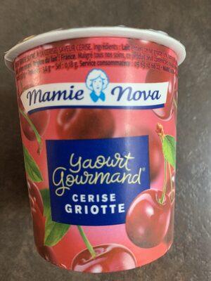 Yaourt cerises griottes - Produit - fr