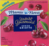 Yaourt Gourmand Cerise Griotte 4 x 150 g - Product